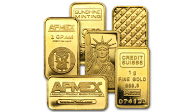APMEX Gold Bar